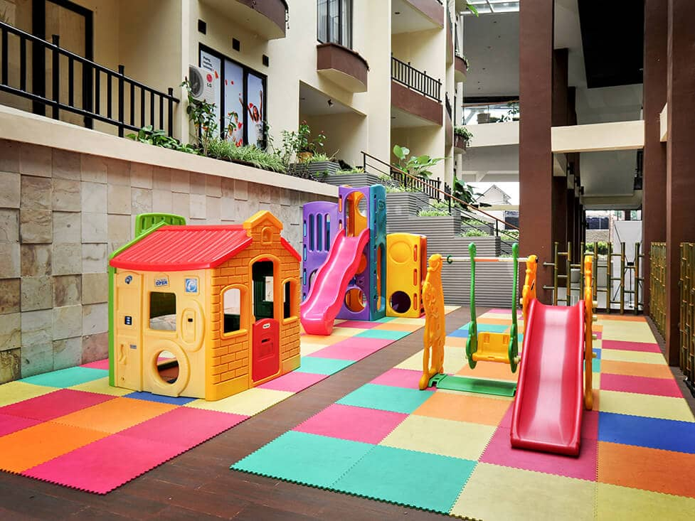 Kids Playground - Palace Hotel Cipanas